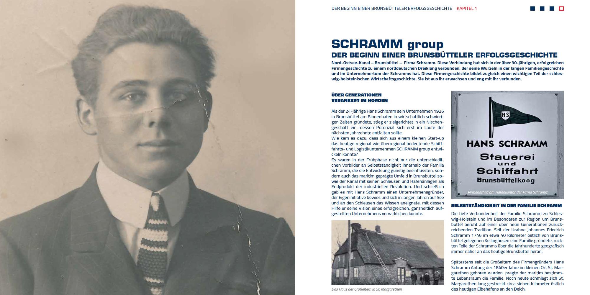 Firmengeschichten Hamburg_Maritime Logistik aus einer Hand_Die Geschichte der SCHRAMM group