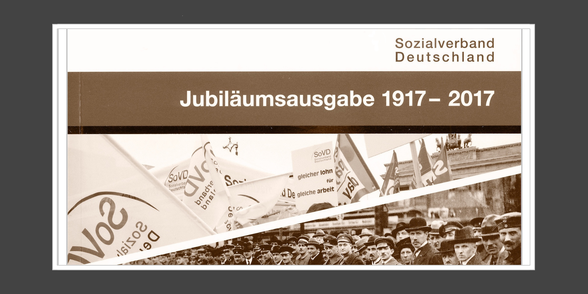 Firmengeschichten Hamburg Historiker Genossenschaft eG 100 Jahre SoVD