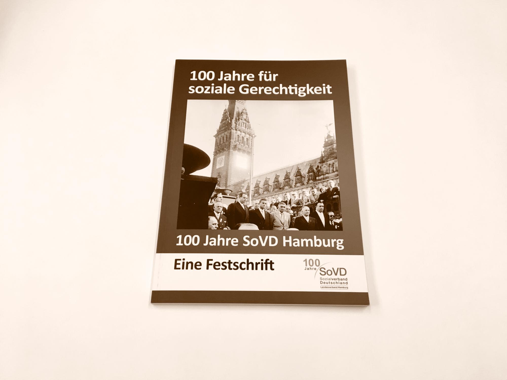 Firmengeschichten Hamburg 100 Jahre SoVD Hamburg